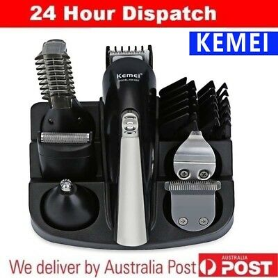 KEMEI Cordless Beard Trimmer Hair Clipper Rechargeable Shaver Body Groomer