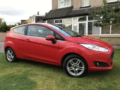 2014 Ford Fiesta Mk7 Facelift 1.25 Zetec 3 Doors Excellent Condition Ford Fsh