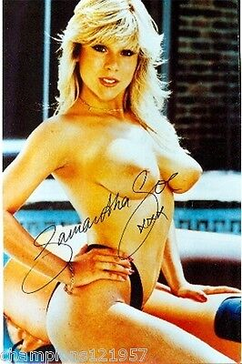Samantha Fox ++Autogramm++ ++Sexy Hollywood Star++