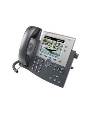 Cisco Unified IP Phone 7945G VoIP-Telefon SCCP SIP 2-Leitungsbebetrieb Silber Du
