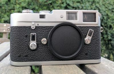 Leica M4 Chrome 35mm Body Serial N. 1192367