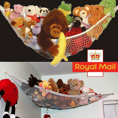 Large Toy Hammock Mesh Net Teddy Bear Keep Baby Childs Gift Bedroom Nursery Tidy