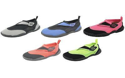 Nalu Hook and Loop Beach Aqua Shoes