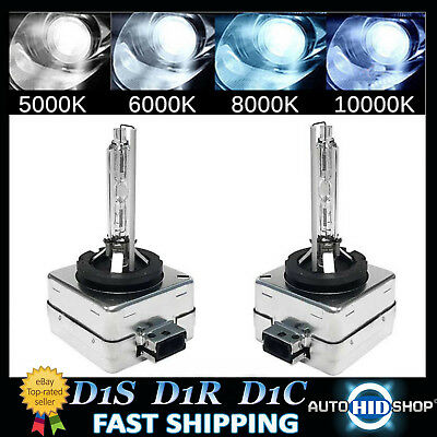 Pair D1S Genuine XENON HID BULBS compatible with 66043 66144 85410 D1C D1R UK