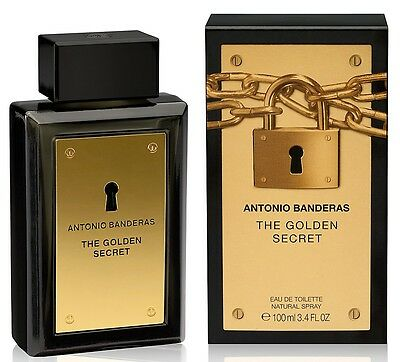 THE GOLDEN SECRET de ANTONIO BANDERAS - Colonia / Perfume 100 mL - Hombre / Man