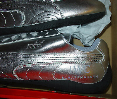 "Sportschuhe PUMA Speed Cat Distressed silber ""IWC Schaffhausen"" TOP! RARE! UK 10"
