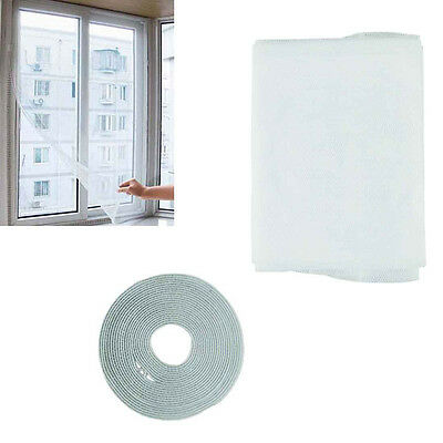 New Window Screen Mesh Net Moth Door Netting Insect Fly Mosquito White Curtains
