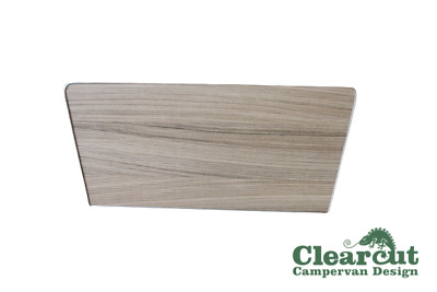 VW T5/T6 Passenger/Driver Single Seat Base Cover, Driftwood Light Weight Ply