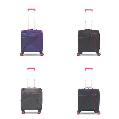 Ryan Air Easy Jet Approved Cabin Bag 4 Spinner Wheels 50X40X20Cms