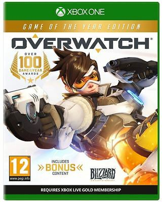 Overwatch GOTY Game of the Year Edition Xbox One New and Sealed