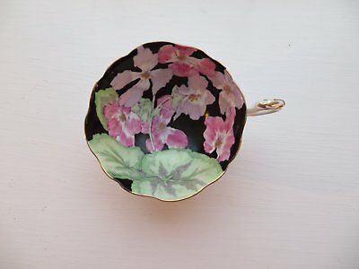 Paragon Geranium Tea cup only Queen Mary Double Warrant 1920s