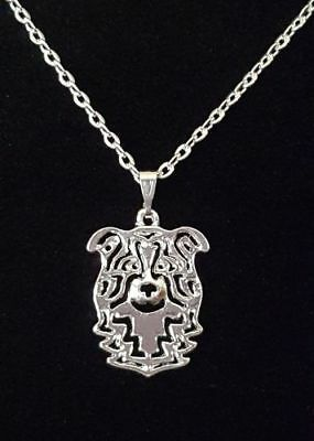 Border Collie Dog Cute necklace 18""