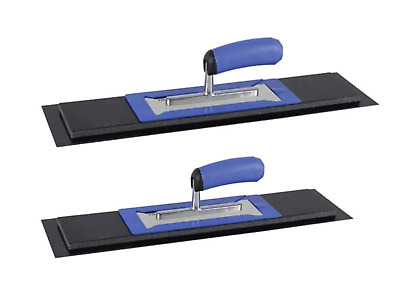"Refina New Plaziflex Skimming Trowels 2pc Set  24"" & 20"" Blade & Trowel"