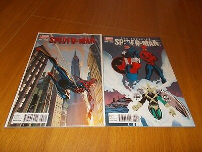 Superior Spiderman # 31 Set Of Two Rare Variant Covers