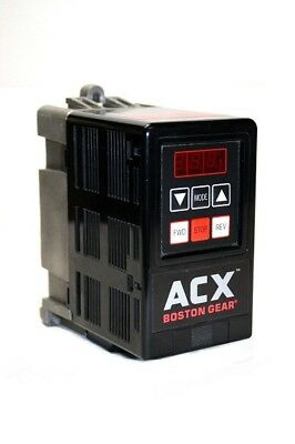 ACX Boston Gear ACX2003 Control Drive 1 or 3 PHASE 208/230VAC 1/3HP