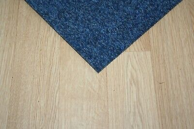 Blue Premium Carpet Tiles - 4m2 Commercial Domestic Office Heavy Use Flooring