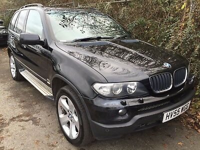 """55 Bmw X5 3.0 D Sport, Leather, Panoramic Glass Roof, 19"""" Alloys Wide Screen Sat"""