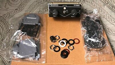 PS Engineering PM3000 stereo panel mount 4-place intercom w/some accessories