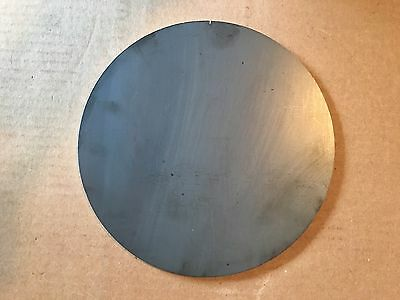 1/4 Inch X 8 5/8 Inch Round/Disc Metal Steel Plates A36 Grade Steel