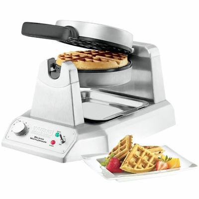 100% NEW Waring COMMERCIAL WW180 Single 120V Belgian Waffle Maker NSF