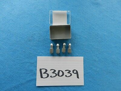 Karl Storz Surgical Luer Lock Connectors 27500 Lot Of 4