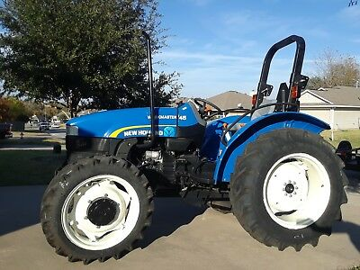 2014 New Holland Workmaster 45 4 Wheel Drive,  Only 13 hours!!!!!