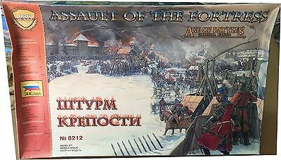 Zvezda Assault of the Fortress .Age of Battle Ref 8212 Escala 1:72, Nuevo