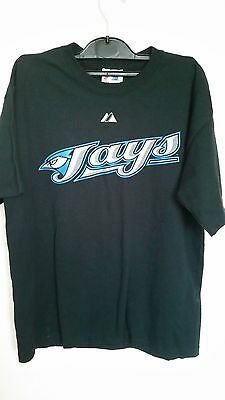 Toronto Jays T-shirt with Glenallen Hill 2 printed on back - Large boys