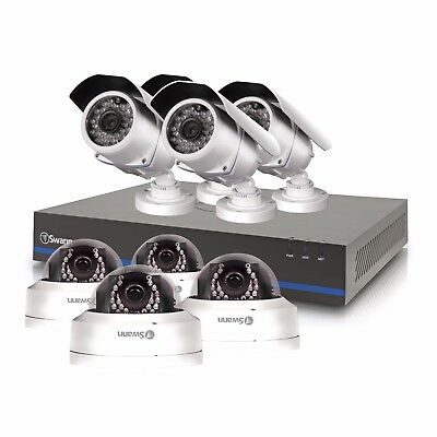 New Swann SOHDK-81080P168-US 8 Channel 720p DVR w 4x Bullet and 4x Dome Cameras