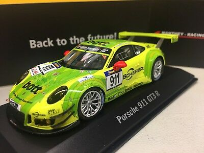 "Spark Porsche 1:43 911 GT3R  Manthey-Racing  ""Distanzrekord"""