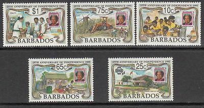 Barbados - Mail 1991 Yvert 820/4 Mnh Anniversary of the independence