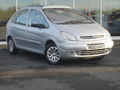 2003 03 CITROEN XSARA PICASSO 2.0 HDi EXCLUSIVE 5dr - SUNROOF - ONLY 86442 MILES