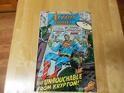 ACTION #364  1968   Neal Adams & Ross Andru  White pages  Excellent Condition