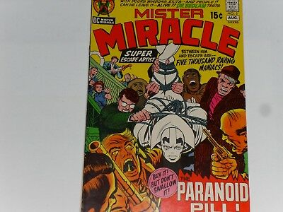 Mister Miracle #3 July / August 1971, Dc Comics, Jack Kirby