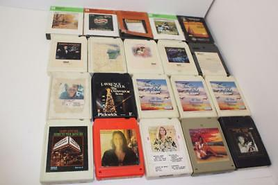 Lot of 20 Variety 8 Track Tapes (FREE SHIP!)
