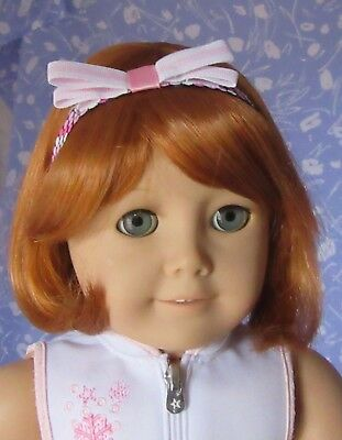 Kemper CONNIE C. Red Doll Wig Sz 10-11 Full Adjustable Cap, Short Bob + Repair