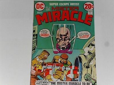 Mister Miracle #10, Sept / Oct 1972, Dc Comics, Jack Kirby