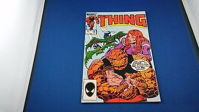 Marvel The Thing #21 Mar. 1985