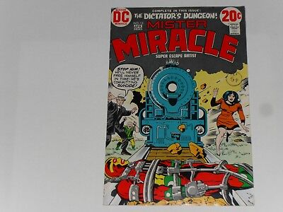 Mister Miracle #13, March / April 1973, Dc Comics, Jack Kirby