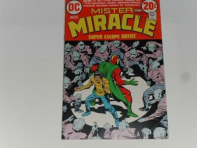 Mister Miracle #15, August / Sept 1973, Dc Comics, Jack Kirby