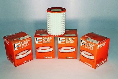 Lot of FOUR (4) New-in-Box Fram Air Filter CA3445 I7