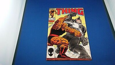Marvel The Thing #24 June 1985