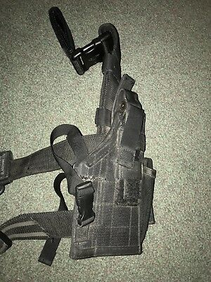 Blackhawk Drop Holster Black with Lanyard and Belt Attachment SF UKSF USSF