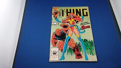 Marvel The Thing #35 May 1986