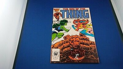 Marvel The Thing #36 June 1986