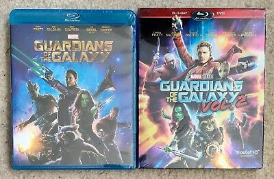 Guardians of the Galaxy Blu-Ray Disc Combo Vol.1 & 2 (Free First Class Shipping)