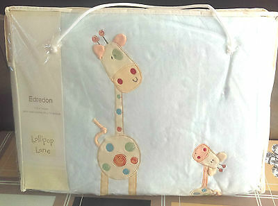Lollipop Lane Will I Be Big One Day Cot Cot bed Quilt 110 X 140 CM