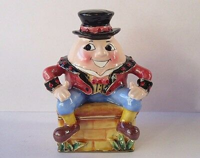 "Arora Hidden Treasures ""Humpty Dumpty"" Enamel Trinket Box & Lapel Pin - 2010"