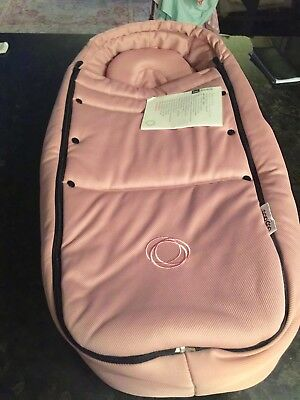 Brand New Bugaboo Bee 5 Baby Cocoon Pink