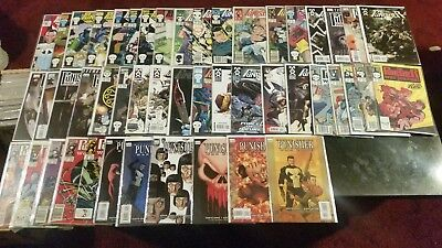 Marvel Comics 48 lot of Punisher comics vg/nm ALL come with bag/board